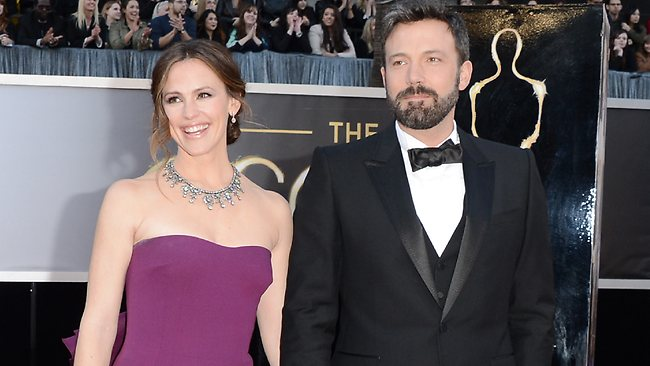 Actress Jennifer Garner and actor-director Ben Affleck. Picture: Getty Images