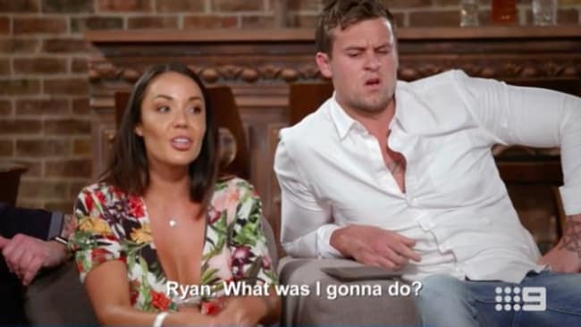 Ryan is kept in the dark by his wife Davina as she attempts to win Dean.