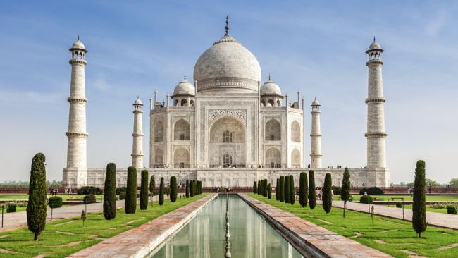 The iconic Taj Mahal. Picture: Supplied