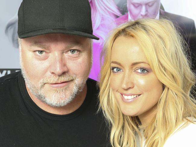 Jackie O lashed out at Kyle Sandilands.