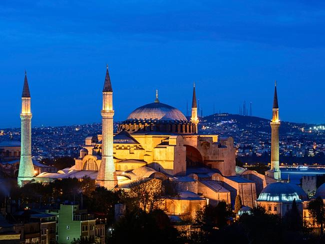 You get to see places like this. Istanbul, Turkey. Picture: Four Seasons.