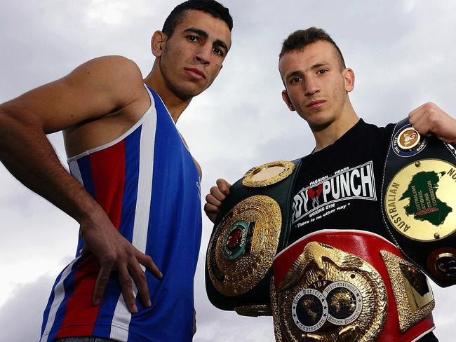 Boxing brothers Mohammed and Ahmed Elomar. Picture: Bloukos Nick