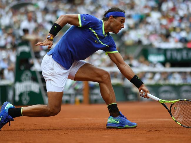 Nadal's the best in the game at wearing his opponents down.