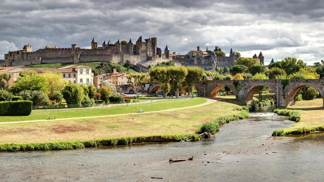 Carcassonne Castle is one of the most visited tourist attractions in France.