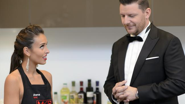 My Kitchen Rules Judge Manu Wants A Career In TV Picture Channel 7