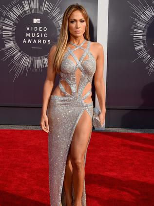 Jennifer Lopez attends the 2014 MTV Video Music Awards.