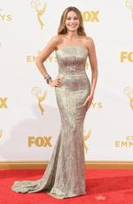 Sofia Vergara attends the 67th Annual Primetime Emmy Awards in Los Angeles. Picture: Getty