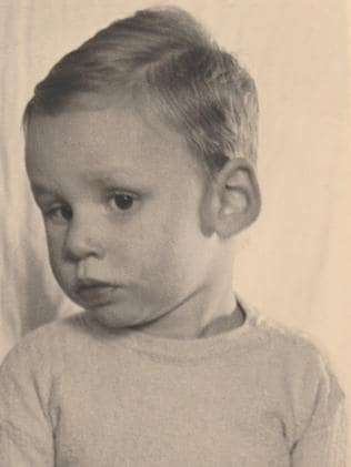 Benny, pictured in 1952, was about 10 when he was institutionalised.