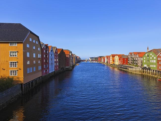Cityscape of Trondheim, Norway. Picture: Thinkstock