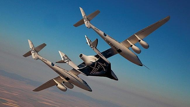 New frontiers... Virgin Galactic's SpaceShipTwo.