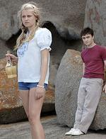 <p>Actors Teresa Palmer and Daniel Radcliffe in a scene from the 2007 Australian film, 'December Boys'.</p>