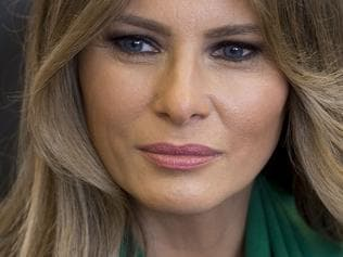 US First Lady Melania Trump and the Queen Rania of Jordan visit a local school