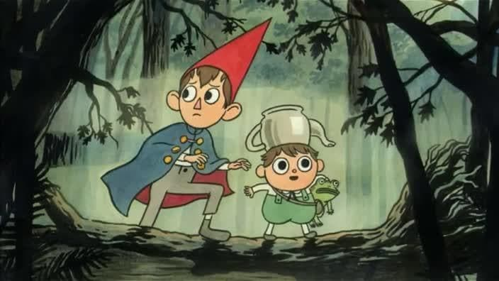 Elijah Wood S Wirt On Over The Garden Wall Based On Woody Allen Herald Sun
