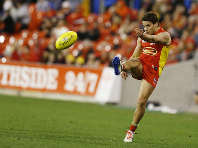 Gold Coast Suns' Dion Prestia stepped up for his team against St Kilda. Picture: Jerad Williams