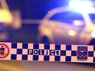Generic crime scene images showing Police crime scene tape across road. Crime scene was at Woolloomooloo. Pics Bill Hearne