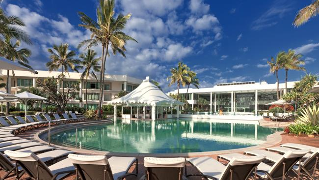 The Oasis Pool at the new-look Sheraton Mirage Resort & Spa Gold Coast. Picture: Supplied