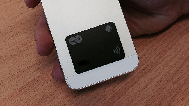 The PayTag just sticks on the back of your phone.