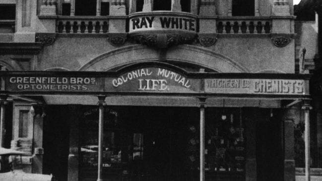 The Colonial Mutual building in Brisbane and original Ray White office in Brisbane.Picture; supplied.