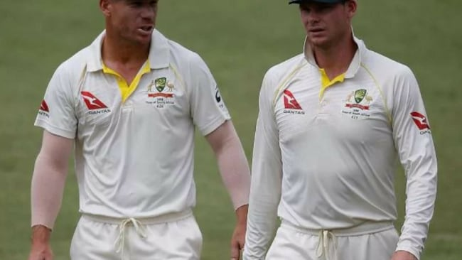 It's all gone wrong for David Warner and Steve Smith. Photo: AFP