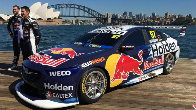 The new Red Bull Racing Holden livery for 2018.