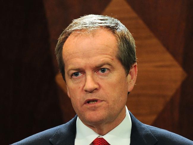 Fight 'to the death' ... Labor leader Bill Shorten. Picture: Vince Caligiuri/Getty Images