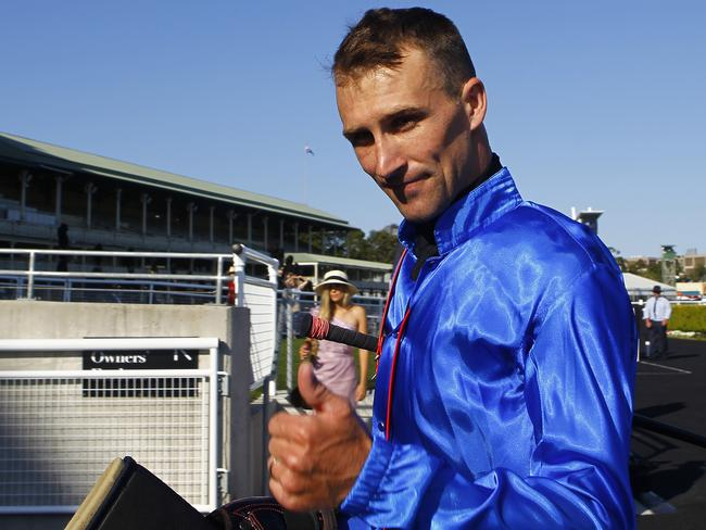 Jockey Tye Angland has a strong book of rides on Saturday. Picture: AAP