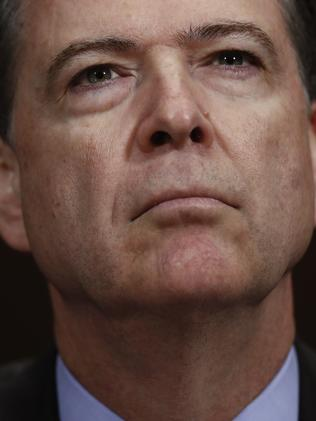 Former FBI Director James Comey. Picture: AP