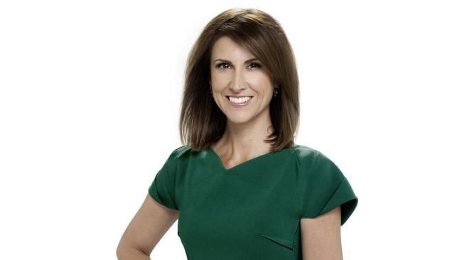 Good sport ... Channel Seven's  <i>Sunrise </i>newsreader Natalie Barr. Picture: Supplied
