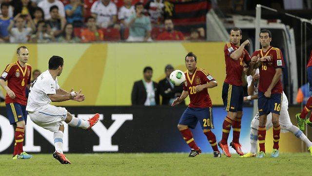 Brazil Soccer Confed Cup Spain Uruguay