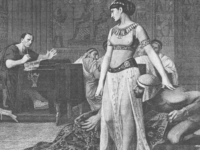 Cleopatra VII, the last Queen of Egypt.
