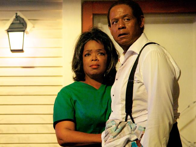 Oprah Winfrey stars with Forest Whitaker in The Butler, which was distributed by The Weinstein Company. Picture: AP Photo/The Weinstein Company, Anne Marie Fox