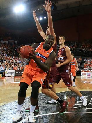 Nathan Jawai. PICTURE: JUSTIN BRIERTY