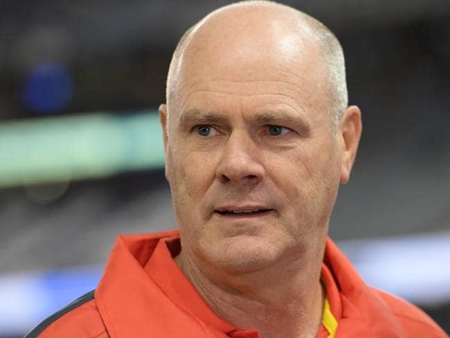 Rodney Eade has savaged the suns.