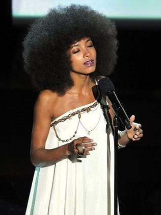 Esperanza Spalding onstage during the 84th Annual Academy Awards. Picture: Getty