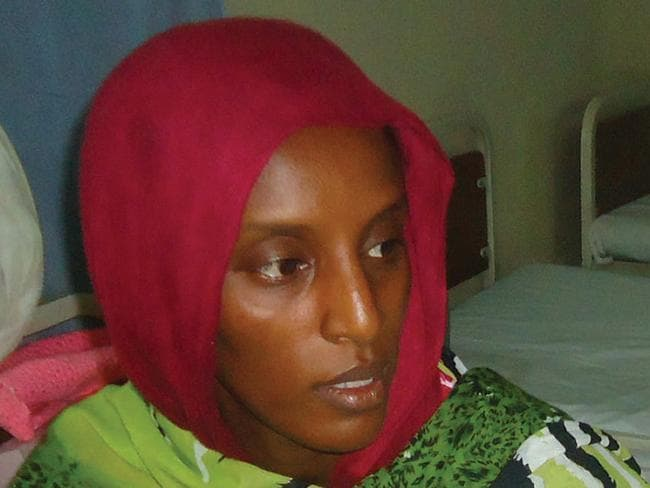 Briefly freed ... Meriam Yahia Ibrahim Ishag, a 27-year-old Christian Sudanese woman sentenced to hang for apostasy.