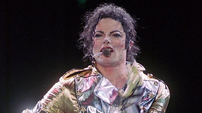 Michael Jackson could have been in the movie with a bunch of lost boys. (AP Photo/Pat Roq