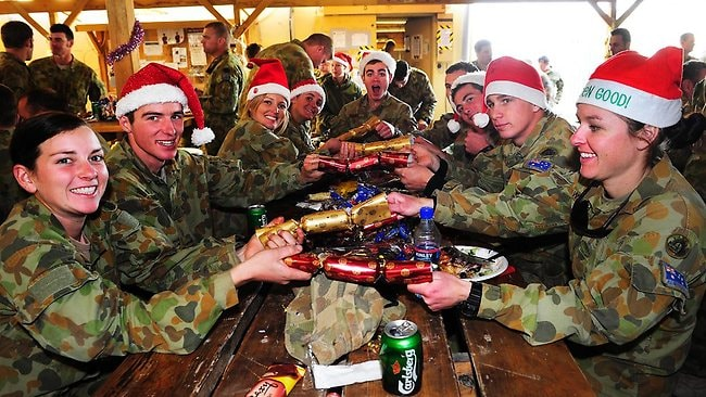 No Christmas Please We Re In The Military