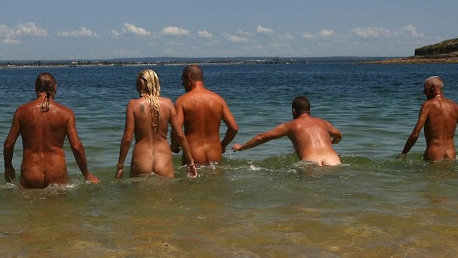 Public nude beach new england