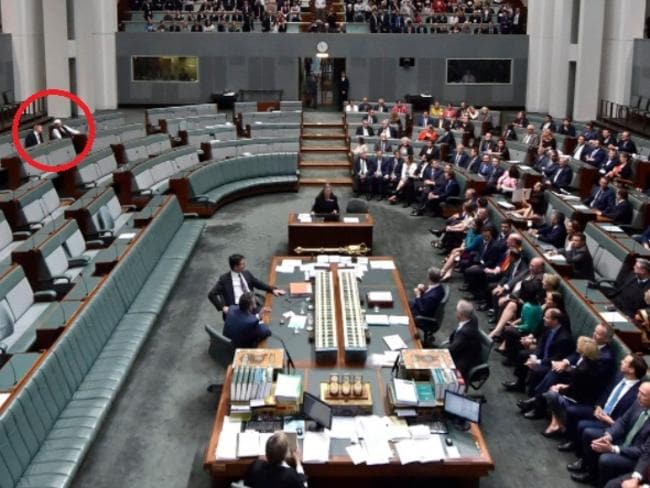 Division in House of Representatives paints a lonely picture.