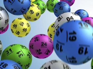 Powerball balls generic. $40 million was won in the lottery and collected from newsagent in Campbelltown Mall.