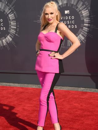 Gwen Stefani attends the 2014 MTV Video Music Awards.