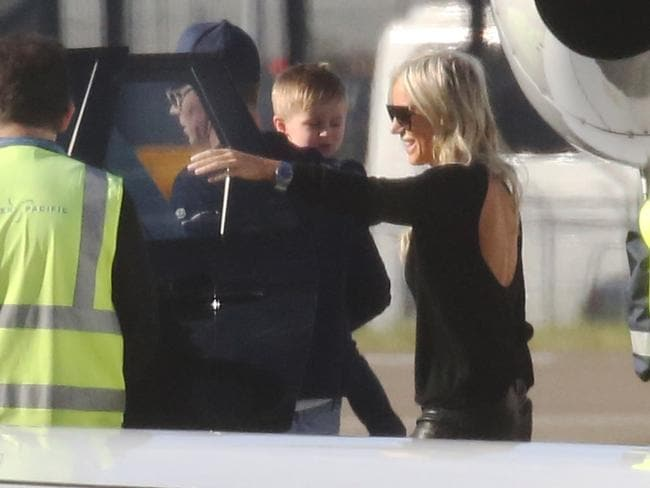 Oliver Curtis lands in Sydney after being released from prison this morning, Mascot, Sydney, Australia, 23 June 2017. Roxy Jacenko's husband, Oliver Curtis was serving a sentence for insider trading.