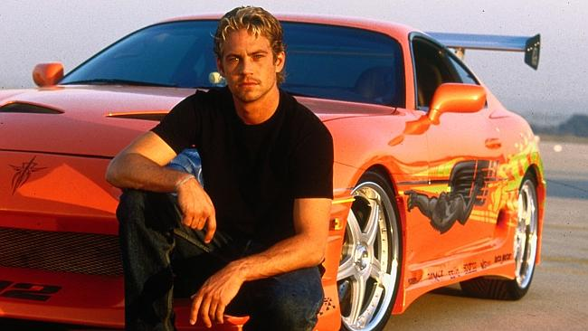 """""""Cars are probably my biggest vice,"""" Paul Walker told News Corp Australia."""