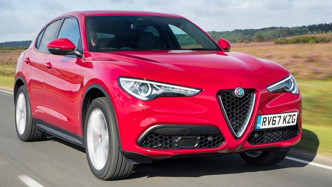The Alfa Stelvio combines sporty driving with practicality. Pic: Supplied.