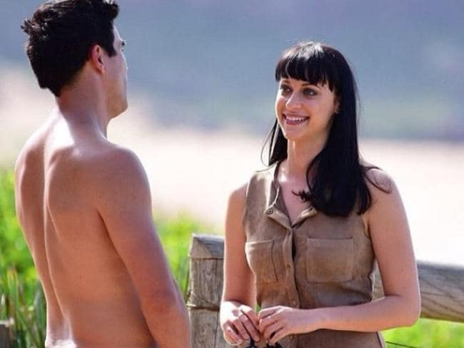Jessica Falkholt in a scene from Home and Away. Photo: Seven
