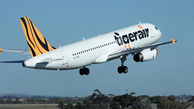 Not acceptable ... Tigerair will never charge passengers to use the toilet. Picture: James Morgan.
