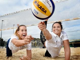 Volleyroos Nicole Laird and Mariafe Artacho del Solar to the Australian Olympic team to compete in Rio next month.