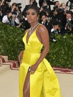NEW YORK, NY - MAY 07: Gabrielle Union attends the Heavenly Bodies: Fashion & The Catholic Imagination Costume Institute Gala at The Metropolitan Museum of Art on May 7, 2018 in New York City. (Photo by Neilson Barnard/Getty Images)
