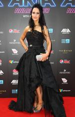 Jane Gazzo arrives on the red carpet for the 31st Annual ARIA Awards 2017 at The Star on November 28, 2017 in Sydney, Australia. Picture: Getty
