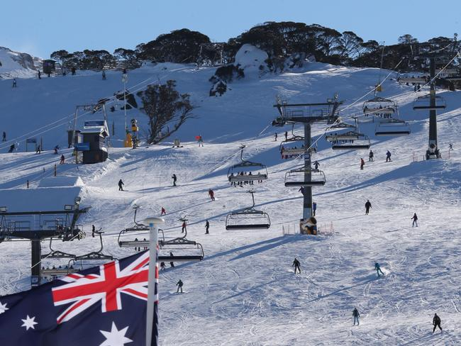 So. Much. Snow. It's looking good here at Perisher. Picture: Ray Strange